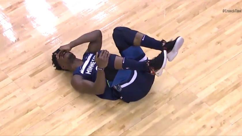 Jimmy Butler Leaves Game Unable To Put Any Pressure On Right Leg After Apparent Non Contact Injury Rsn