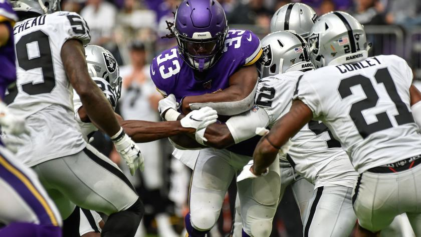Watch: Vikings Dalvin Cook races 75 yards for TD