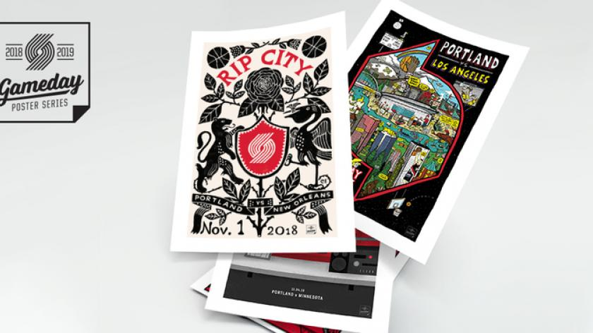 Trail Blazers Gameday Poster Series Seeking Fan Submissions Rsn