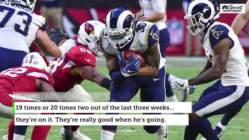 What S At Stake For The Seattle Seahawks Vs Rams On Sunday Night Football Rsn