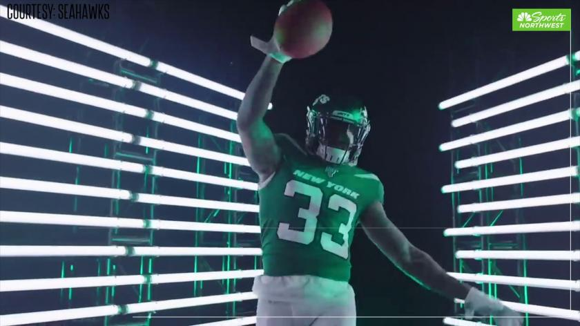 Jamal Adams Shows Off His Seattle Seahawks Jersey For The First Time Rsn