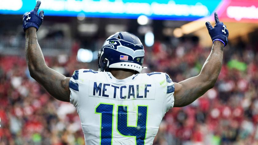 Dk Metcalf Could Be Poised For Julio Jones Esque Jump In Year 2 Rsn