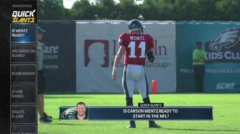 Carson Wentz Is Not A Top 20 Quarterback Say The Browns Rsn