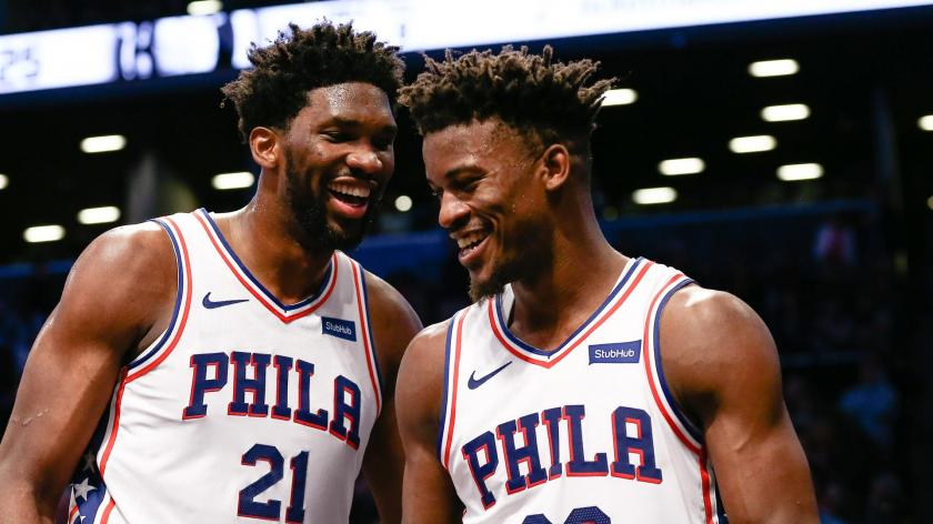 With Playoffs In Mind How Sixers Are Developing Joel Embiid And Jimmy Butler Pairing Rsn