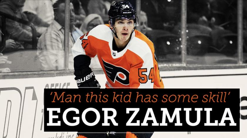 Flyers prospect Egor Zamula can 'do things that not many players can' | RSN