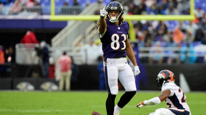 Wide receiver Willie Snead thriving with Ravens as man in the ...