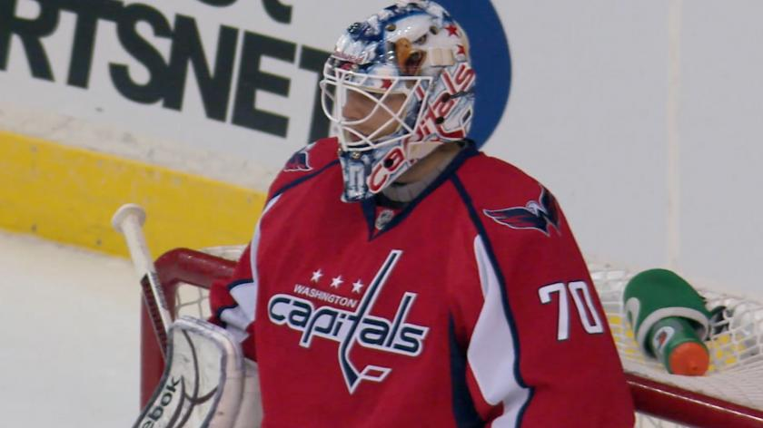 Capitals Goalie Braden Holtby Recalls Bizarre Nhl Debut On 8 Year Anniversary Rsn