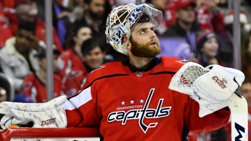 Braden Holtby Cost Himself A Goalie Interference Call In Game 2 And He Knows It Rsn