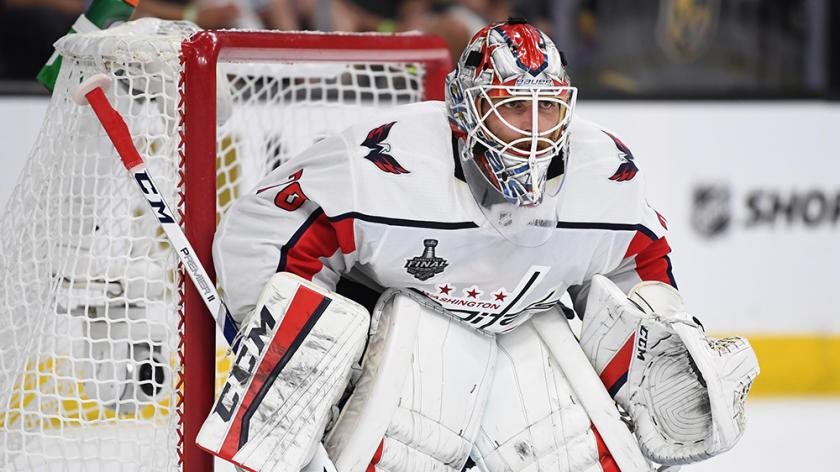 Braden Holtby Is So Intense At Capitals Practice He Can Lose 6 To 8 Pounds Rsn