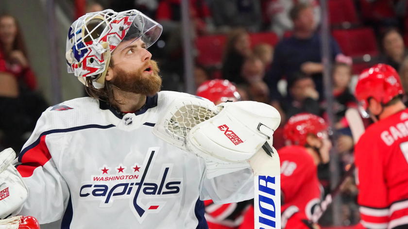 Brian Maclellan On The Caps Goalie Tandem Holtby S Our Guy Rsn