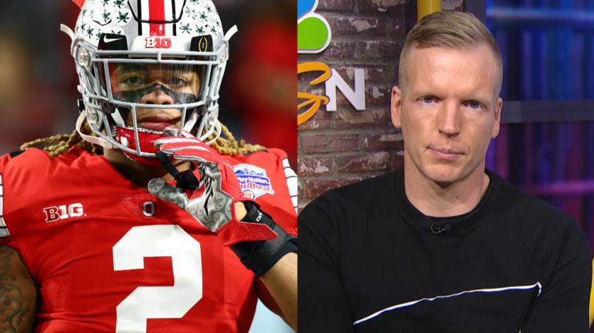 Chris Simms Doesn T Think The Redskins Should Lock In On Chase Young With The No 2 Pick Rsn