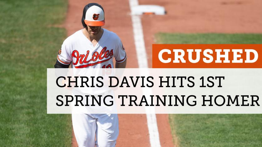 Chris Davis is opening up spring training with a bang | RSN