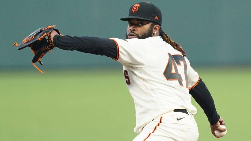 Giants' Johnny Cueto