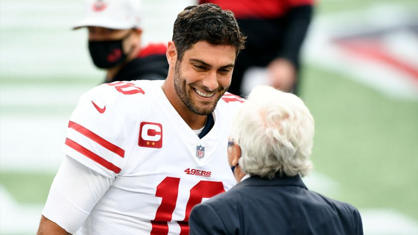 Jimmy Garoppolo, Robert Kraft