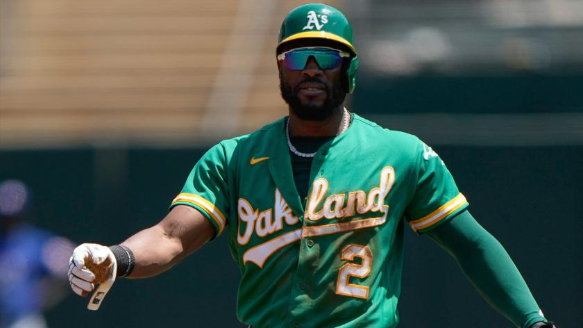 Underrated' Starling Marte giving Athletics something they've lacked   RSN
