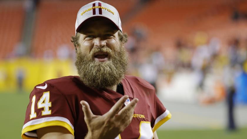 Ryan Fitzpatrick is unbothered by Washington's lack of preseason touchdowns    RSN