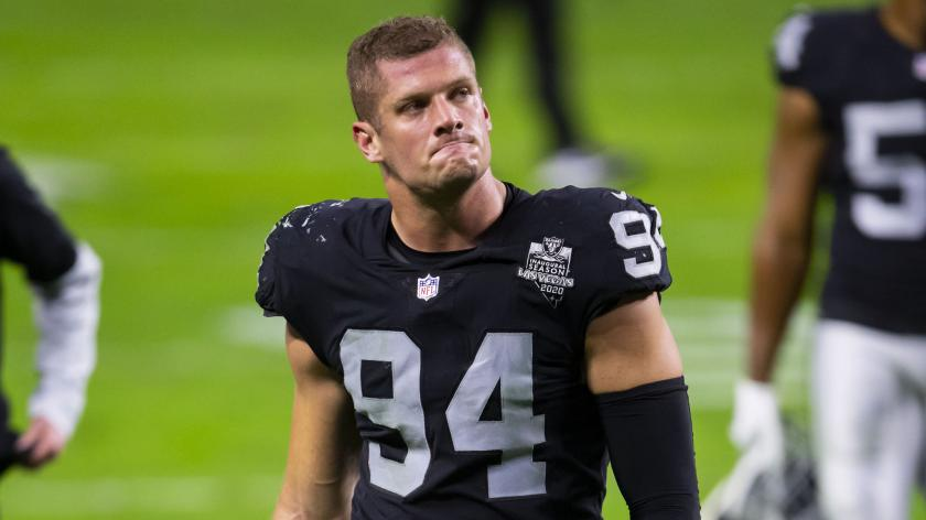 Raiders' Carl Nassib has NFL's top-selling jersey after coming out ...