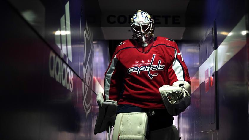 Anson Carter Believes The Best Place For Braden Holtby Is To Stay In With The Capitals Rsn