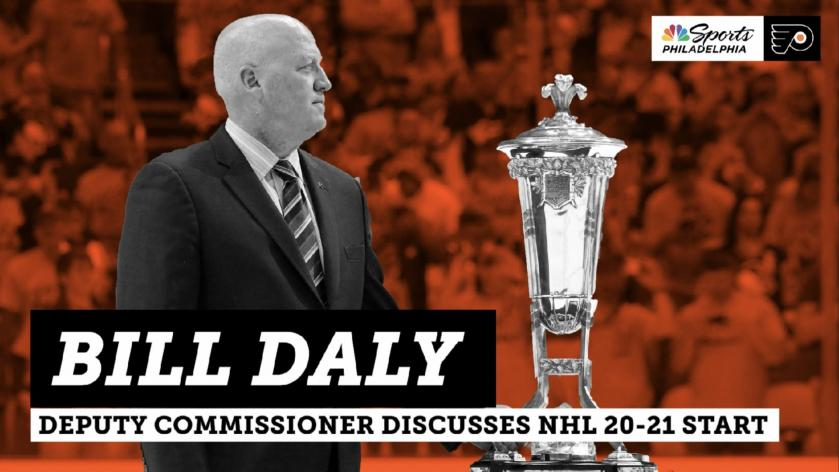 How And When Could Fans See Flyers In 2020 21 Nhl Season Bill Daly Answers That And More Rsn
