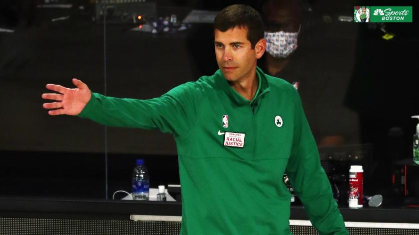 Brad Stevens Reaction To Nick Nurse S Coaching Tactics Is Predictably Measured Rsn