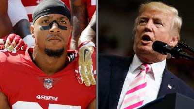 Trump to anthem protesters: 'Get that son of a b---- off the field'