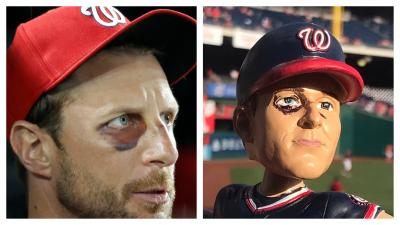 Max Scherzer 2017 CY YOUNG Washington Nationals Limited Edition Bobble Bobblehead