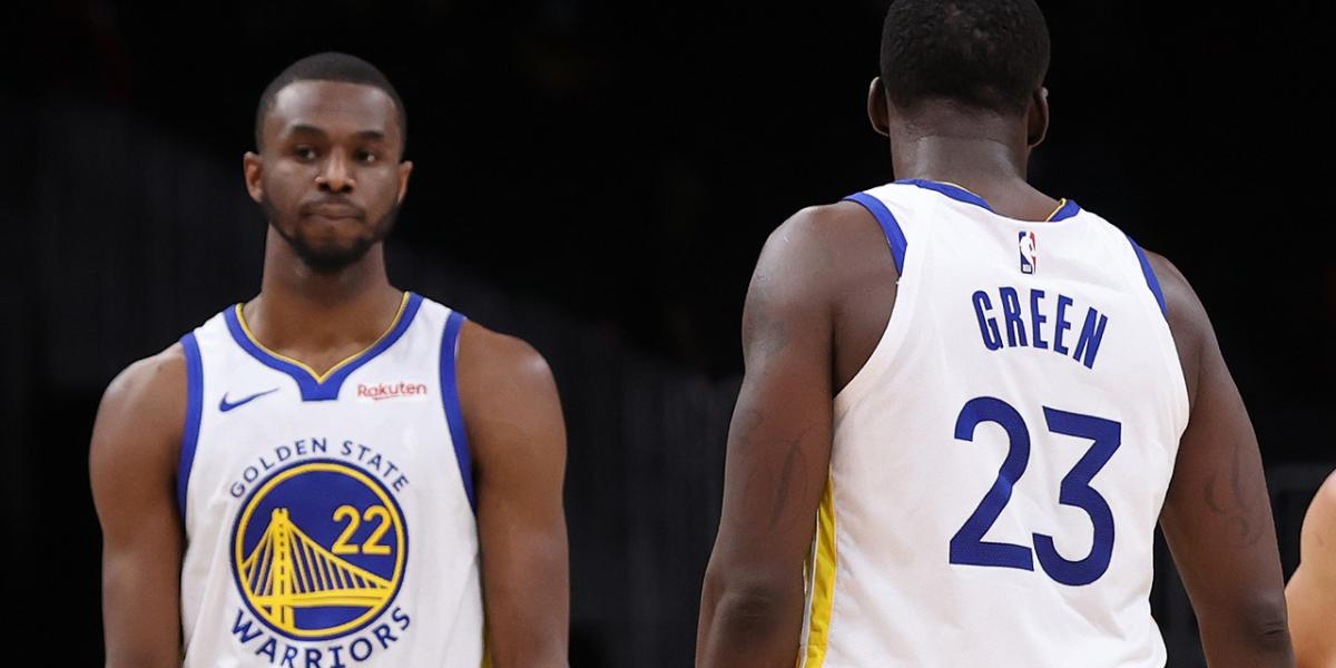 Draymond Green won't tell Andrew Wiggins to get COVID-19 vaccine