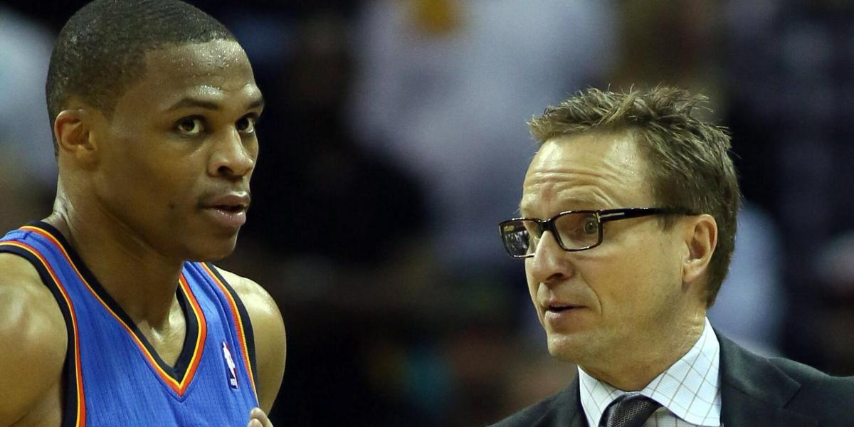 It took one workout for Scott Brooks to notice how dynamic Russell Westbrook was