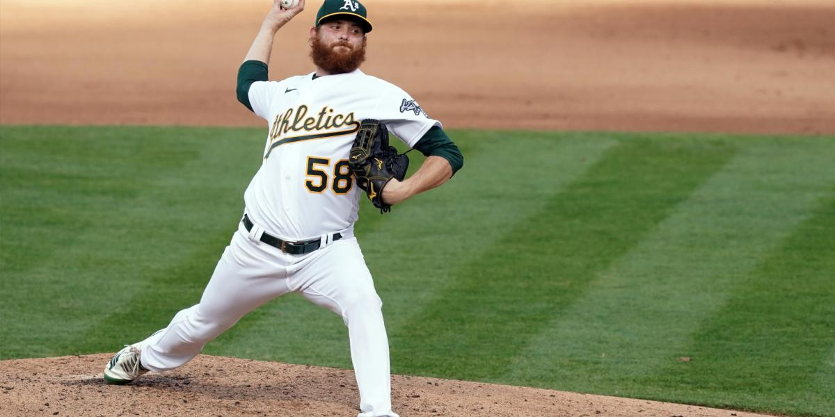 A's DFA Blackburn, make room for Moreland on 40-man roster