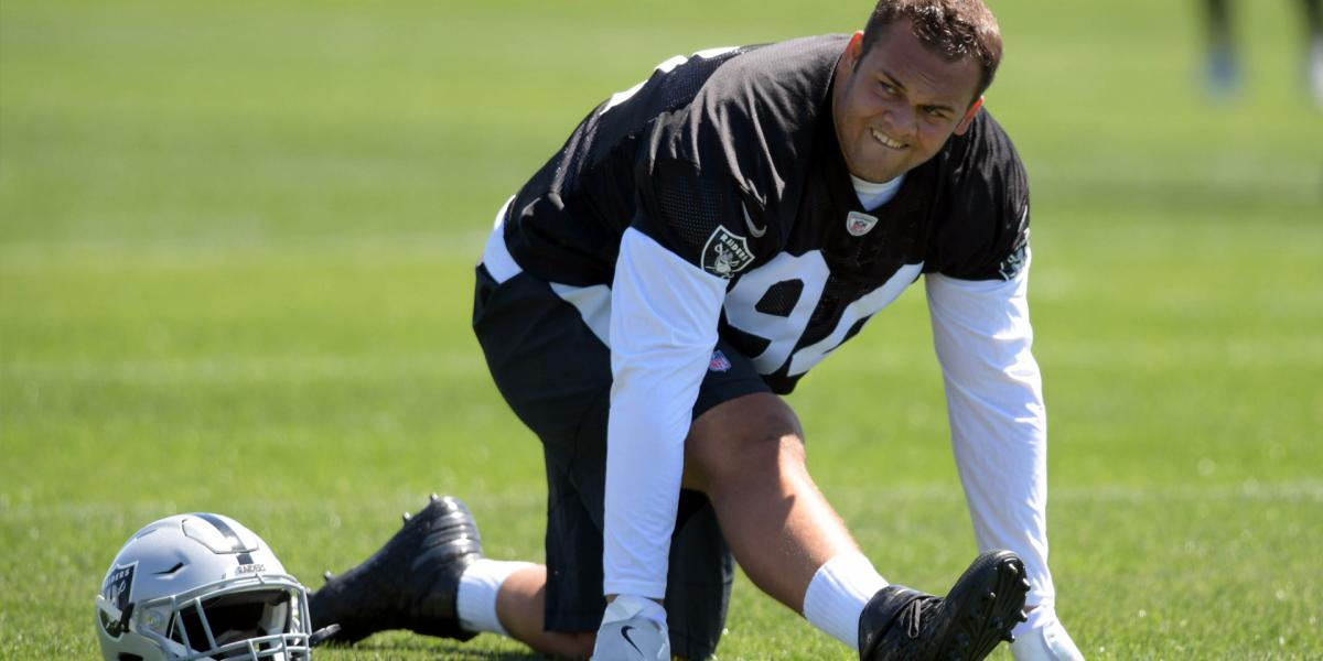 Eddie Vanderdoes becomes fourth ex-Raider signed by 49ers - NBC Sports Bay Area