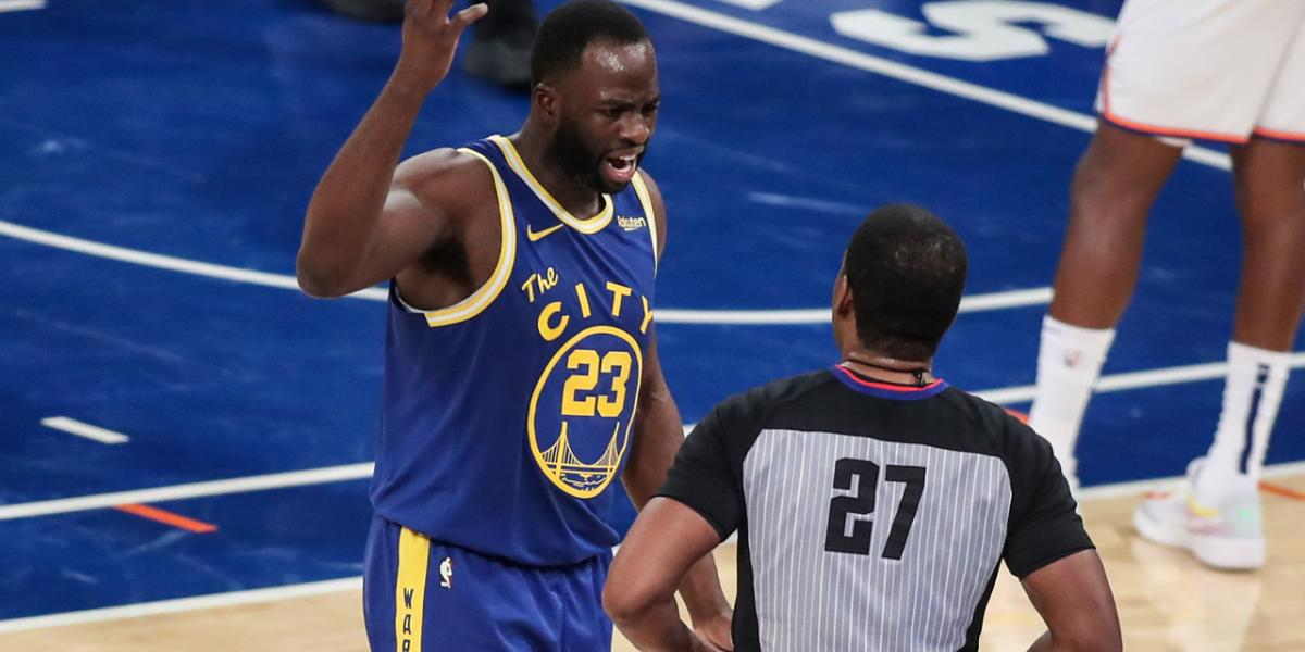 Draymond Green rips COVID-19 testing ahead of early Warriors-Jazz game