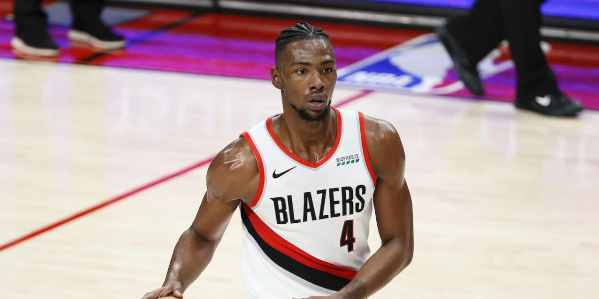 Harry Giles has been waiting for his opportunity with Trail Blazers-- and now it's here