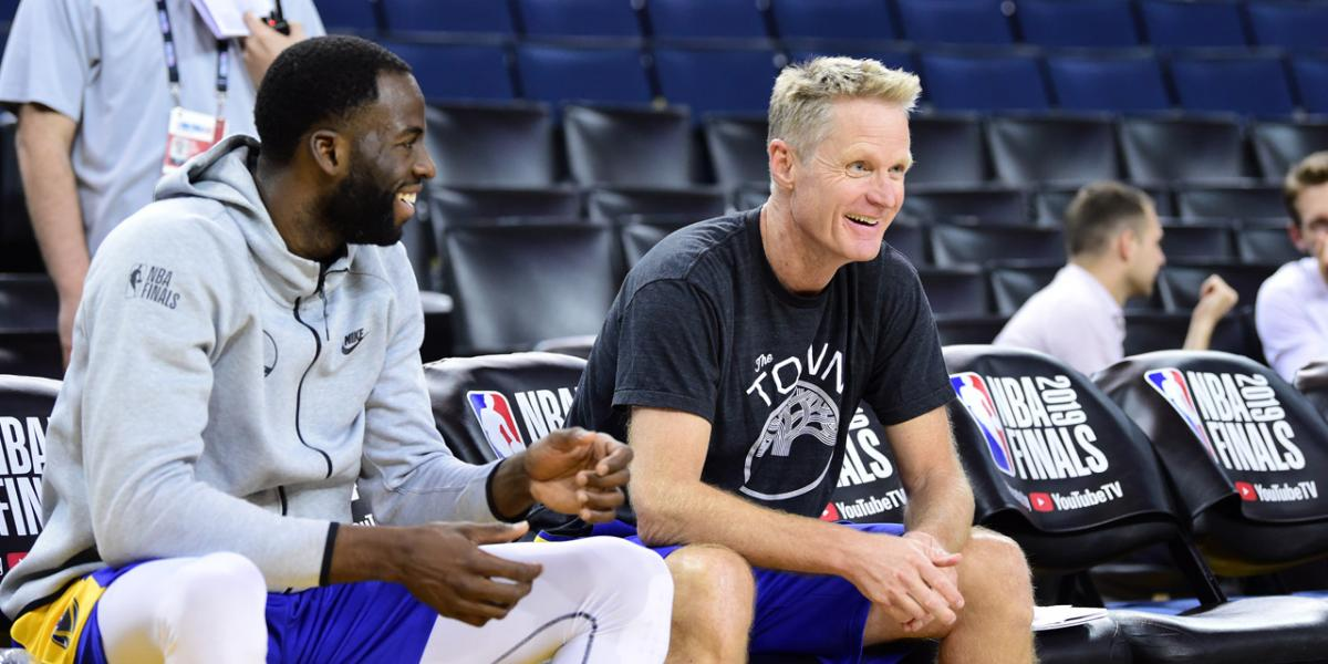 Draymond Green blames Drake for Steve Kerr fining him for late flight