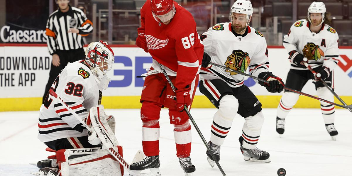 10 observations: Lankinen, Blackhawks blank Red Wings - NBC Sports Chicago