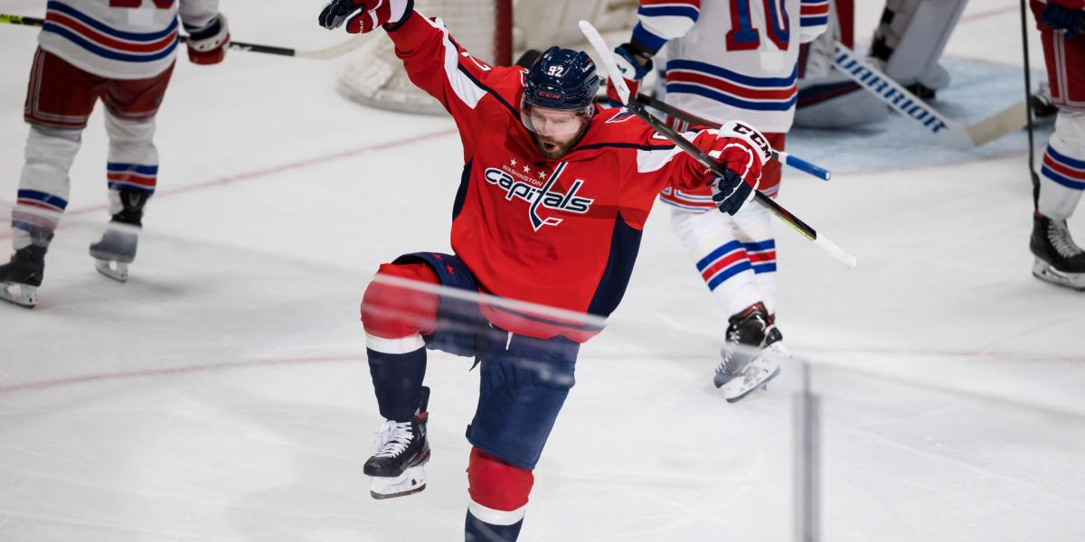 Evgeny Kuznetsov ready to 'get my smile back in the game'