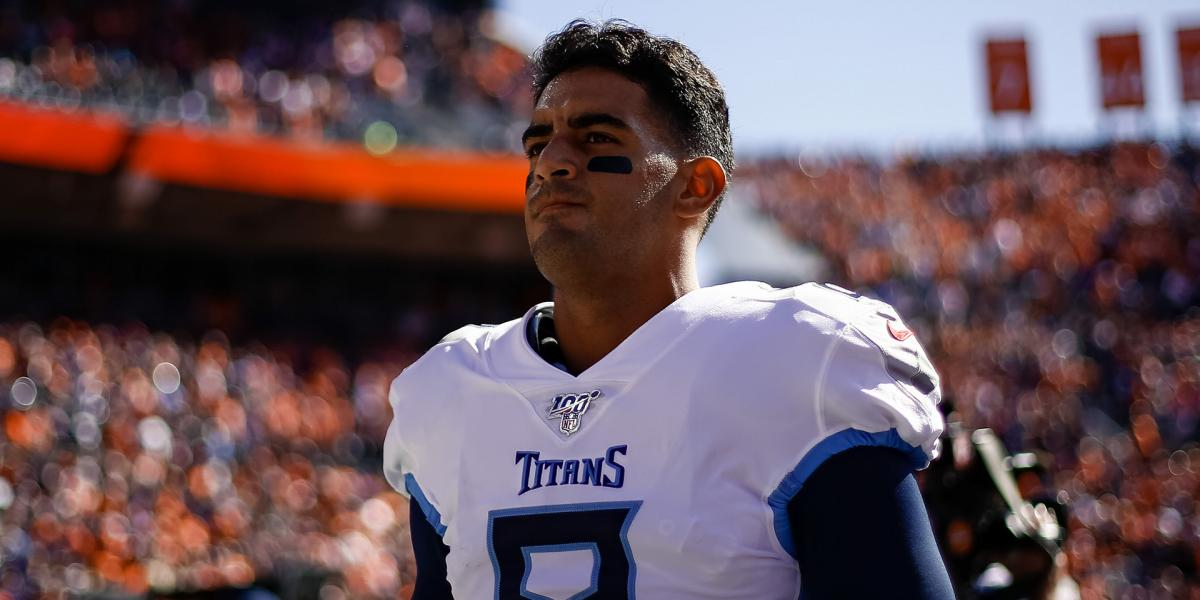 Raiders QB Mariota ranked as No. 2 backup in NFL by PFF