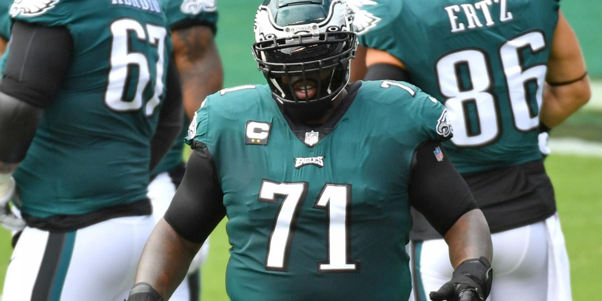 Eagles predictably sticking with Jason Peters at left tackle
