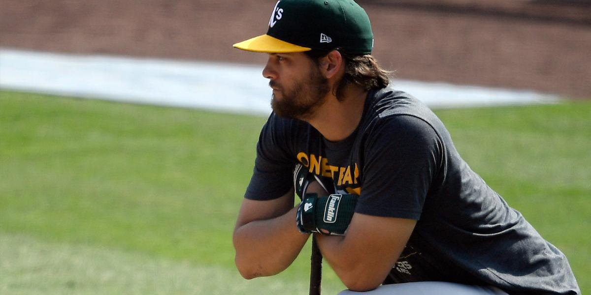 A's Chad Pinder, Burch Smith sign one-year contracts, avoid arbitration