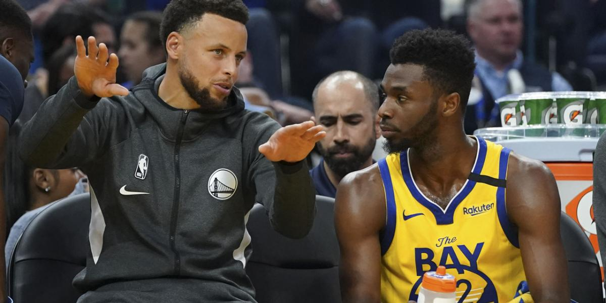 Steph Curry glad Andrew Wiggins 'handled responsibilities' by getting vaccine