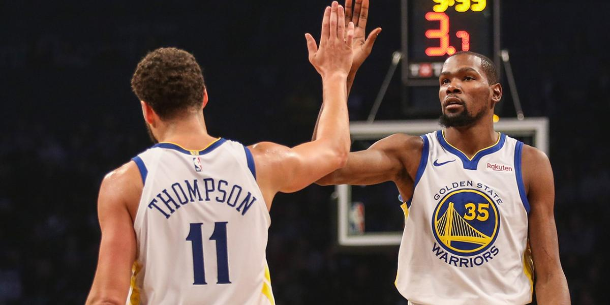 Klay identifies who has inspired him in Achilles recovery