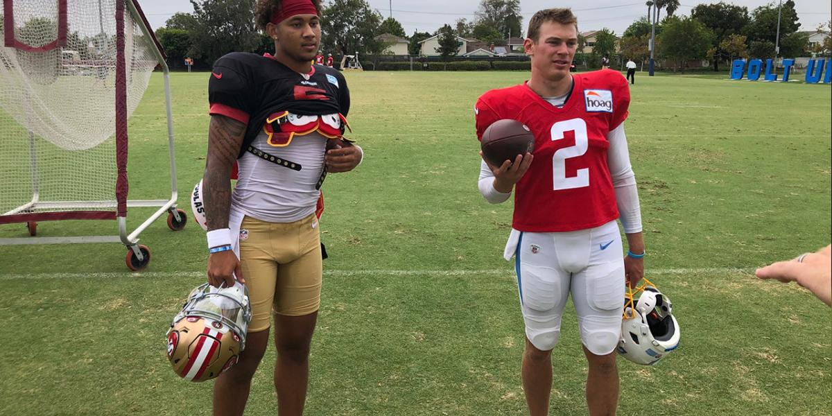 Why Trey Lance's college teammate could tell 49ers QB was special - NBC Sports Bay Area