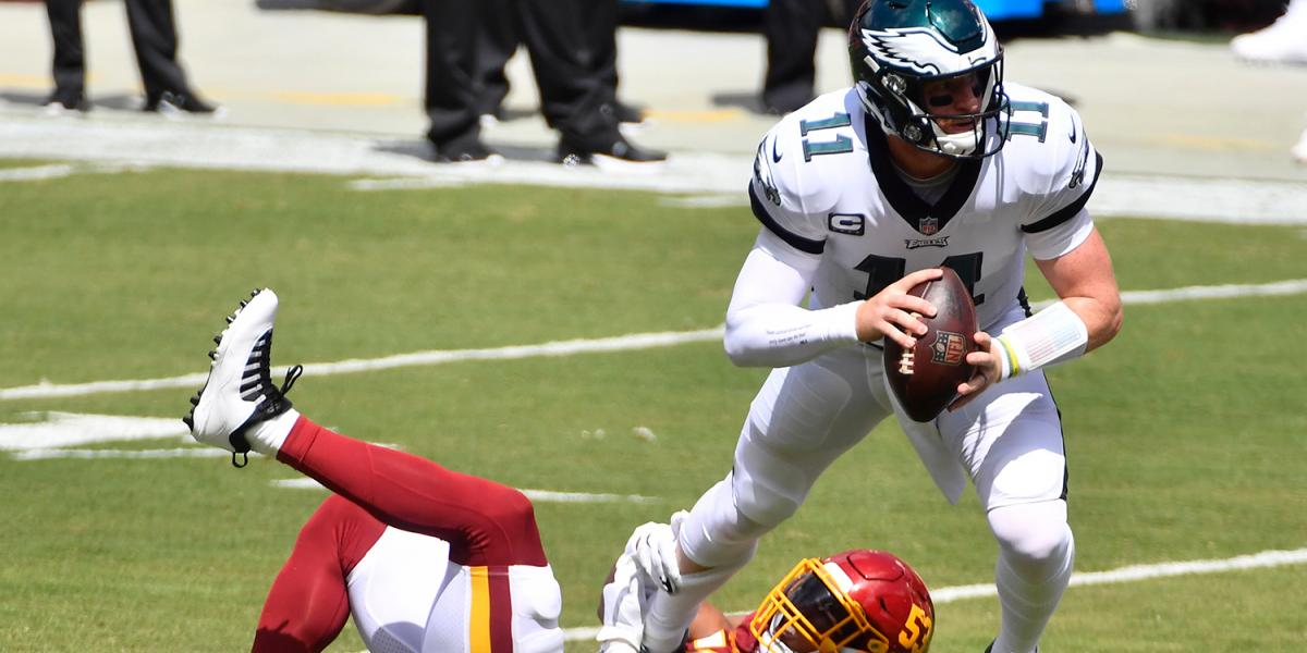 Will Carson Wentz ever learn to throw the ball away? - NBCSports.com