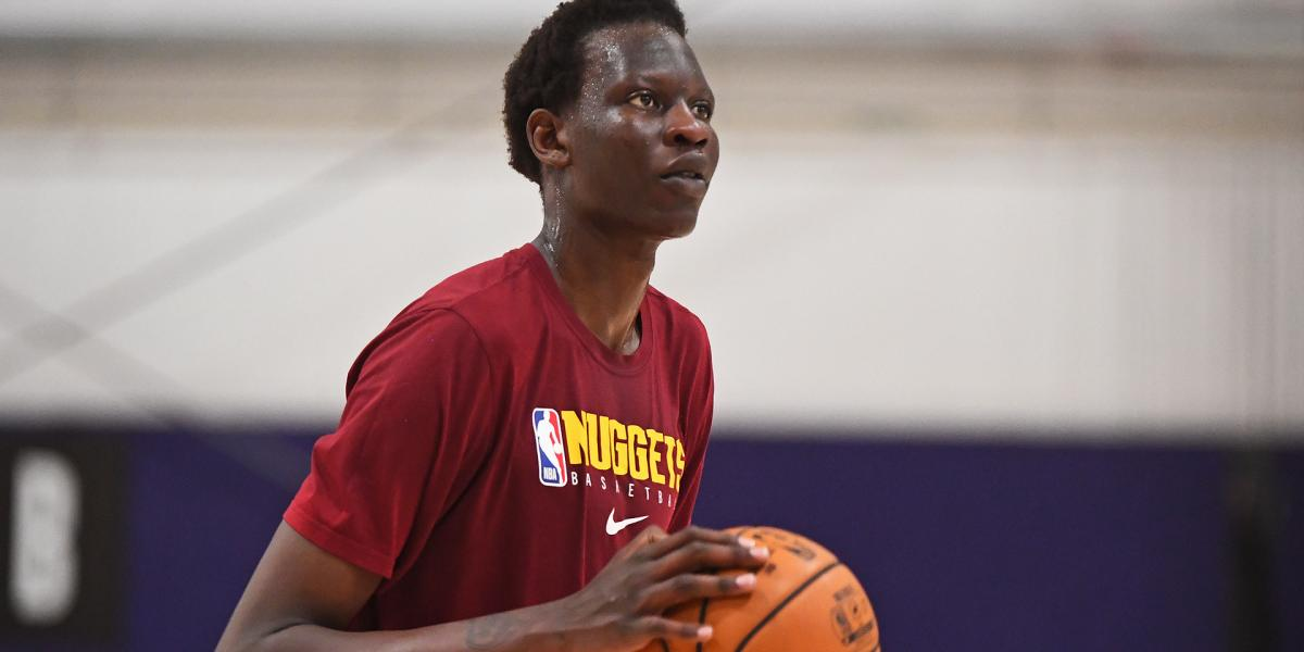 Bol Bol turning heads in Denver Nuggets training camp