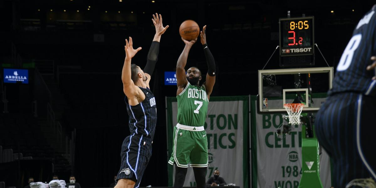 """Highlights of the Celtics – """"Magic"""": """"W"""" does not show rust in the victory  124-97"""