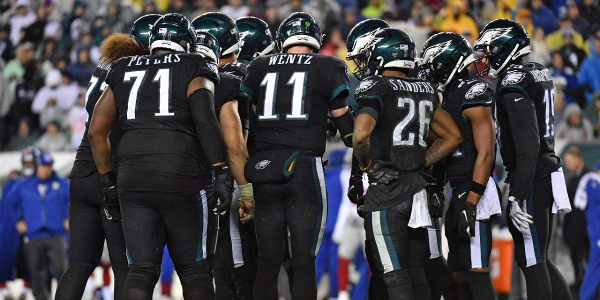 The Eagles going with their all-black uniforms is a panic move | RSN