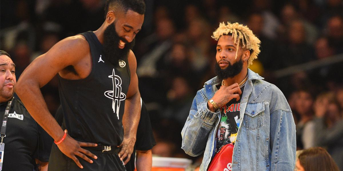 James Harden would be 'deadly' on Warriors, Odell Beckham ...