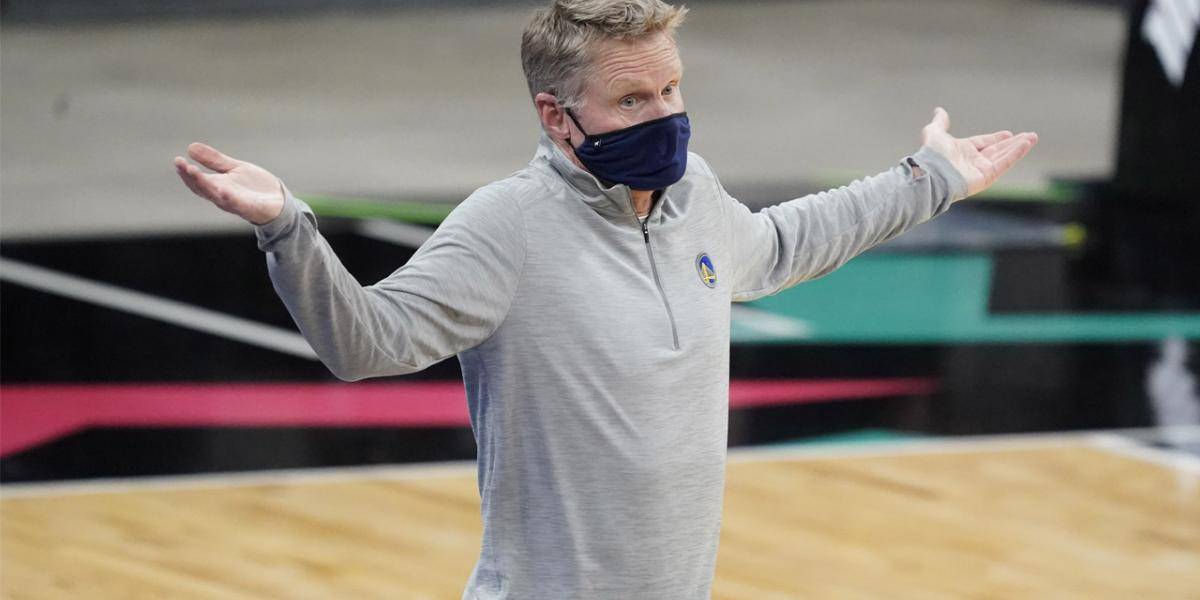 Kerr pokes fun at Dubs fans with joke about Steph's minutes - NBC Sports Bay Area