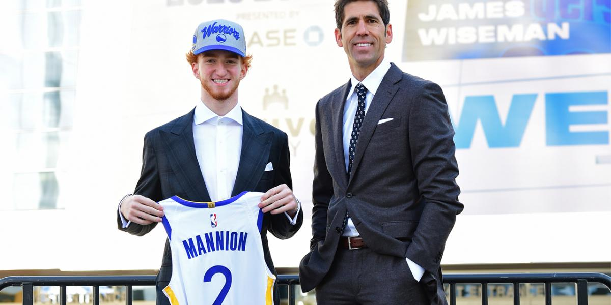 Nico Mannion signs two-way contract with Warriors; James Wiseman signs