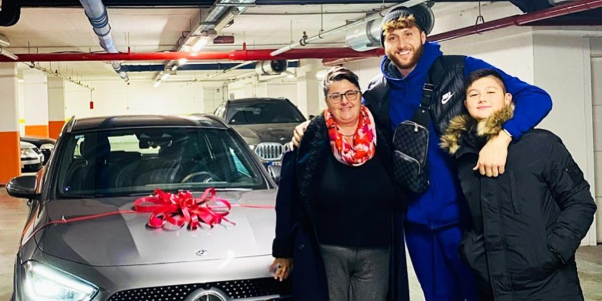 Trail Blazers big man Jusuf Nurkic gifts his mom with her very first car