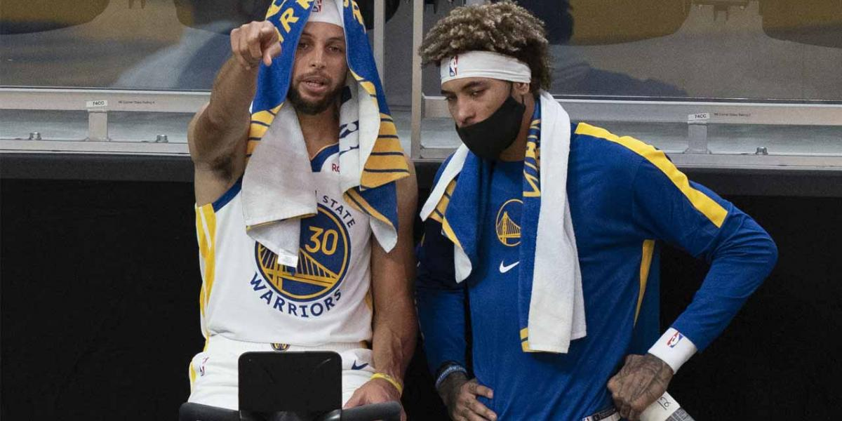 What Kelly Oubre learned from Warriors' Steph Curry, Draymond Green - NBC Sports Bay Area